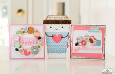 Doodlebug Design Inc Blog: Cream and Sugar Collection: Valentines by Courtney Lee