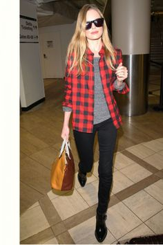 Kate Bosworth Touches Down At LAX