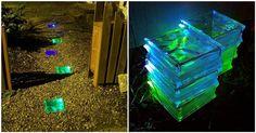 Creative Ideas - DIY Colored Solar Powered Walkway