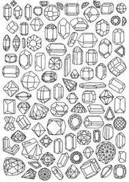 Kết quả hình ảnh cho crystal shape drawing
