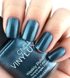 CND Vinylux Weekly Polish - Fern Flannel (used once) - $7