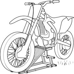 Motorcycle Coloring Pages (1)
