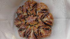 Kwiatek z nutella z ciasta drozdzowego/ Kasia gotuje po slasku