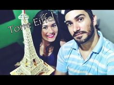 Presente Criativo para namorada -Torre Eiffel De Palitos - Elton Donadon -