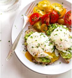 Poached Eggs On Avocado On Toast - Drool-Inducing Pinterest Breakfast Recipes You Can Make in A Snap - Photos