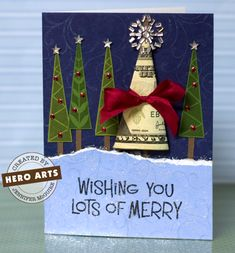 Christmas cards-cute idea