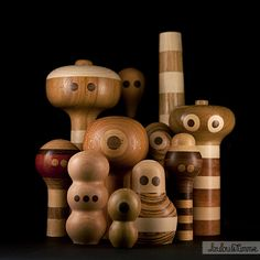 Loulou's handcrafted wooden robots and characters | Loulou & Tummie.