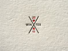 Mark for Winter Xgames field guide designed by Aaron Melander for target. Letterpress printing by Beast Pieces. via ffffound! Source: Beast Pieces