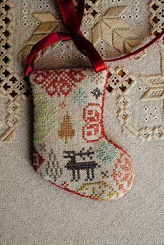 All socks, Christmas socks! Cross Stitch Christmas Ornaments, Christmas Embroidery, Christmas Cross, Christmas Sock, Cross Stitching, Cross Stitch Embroidery, Cross Stitch Patterns, Cross Stitch Stocking, Maya