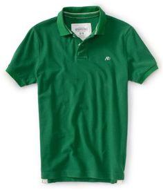 Aeropostale Mens Solid A87 Polo Shirt Large Green Aeropos... https://www.amazon.com/dp/B01K65SN3E/ref=cm_sw_r_pi_dp_x_JQA8xbDVF3FCC