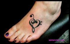Heart tattoo for women
