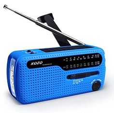 Best NOAA Weather Radio For Emergency By Kozo. Multiple Ways To Charge Self Hand8  Manufacturer - Kozo, EAN - 0712038472529, Dimensions - 1.57 x 2.36 x 5.12 inches, Package Dimensions - 3.46 x 2.6 x 5.59 inches, Weight - 0.48, Package Weight - 0.35, Category - Portable AM|FM Radios, UPC - 712038472529