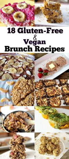 18 Healthy and Easy-To-Make Gluten-Free and Vegan Brunch Recipes that will please everyone!