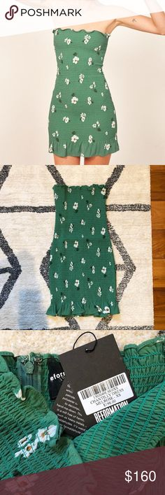 5caab55807 Reformation Chantilly Dress Melrose Size xs. NWT. Sold out on the website.  Reformation Dresses Mini
