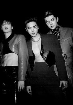 Don't be afraid he love is he way🍁Exo Exo Chanyeol, Exo Ot12, Kpop Exo, Exo Kai, Chen, Daddy, Exo Lockscreen, Kim Minseok, Exo Memes