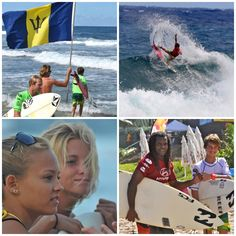 Barbados Surfing Association's Independence Pro Competition 2012.