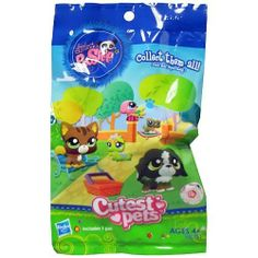 Littlest Pet Shop Blind Bagged Figures Wave 2 6-Pack by Hasbro. $12.49. Specific requests not available.. Tiny pets, and they're all surprises! Get unique collectible Littlest Pet Shop animals with Littlest Pet Shop Blind Bagged Figures Wave 2. 6 random figures are included, each of which are individually bagged.. Ages 4 and up.. We cannot accept returns on opened pets.. Which ones will you get? We have no idea-- pick up a case, and be surprised!. Tiny pets, and they...