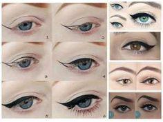 Trucos para aplicar el eyeliner