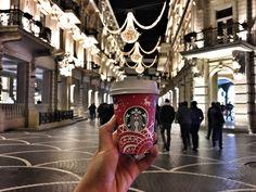 Tarqovu Street / Baku  #baku #azerbaijan #starbucks #noel #christmas #merrychristmas #coffee #баку #азербайджан