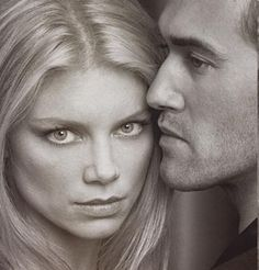 Peta Wilson and Roy Dupuis.