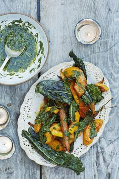 Cumin Roasted Butternut and Cavolo nero Recipe for Christmas side dish | Recipe from Honestly Healthy  http://www.honestlyhealthyfood.com/blogs/honestly-healthy-food/45296449-cumin-roast-butternut-and-carrot-with-cavolo-nero