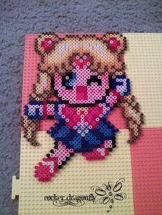 Sailor Moon perler beads by RockerDragonfly on deviantart