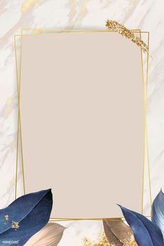 Rectangle foliage frame on white marble background vector premium image by Adj Framed Wallpaper, Flower Background Wallpaper, Frame Background, Flower Backgrounds, Background Patterns, Wallpaper Backgrounds, Beauty Background, Instagram Png, Story Instagram