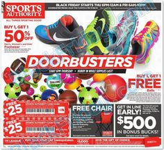 Black Friday 2014: Sports Authority releases their 20-page ad