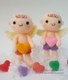 Lovely Cupid - PDF Crochet Pattern