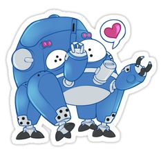 tachikoma from ghost int he shell • Also buy this artwork on stickers, apparel, home decor, and more.