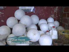 Hacer balones de fútbol artesanales es todo un reto para Ciudad fútbol