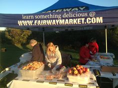 Fairway Market - thanks for feeding the athletes!
