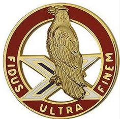 2nd ADA (Air Defense Artillery) Unit Crest (Fidus Ultra Finem)
