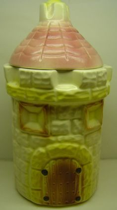 Castle Cookie Jar by American Bisque