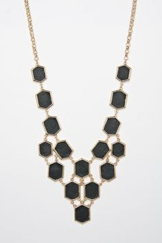Love this architectural Dagmar Necklace from Shopsosie