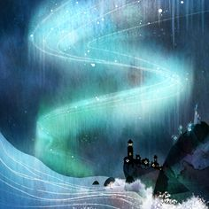 Camille André: Water & Aurora Borealis