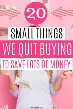 Start saving thousands every month with these simple money saving hacks. If you are looking to save money, these are the things we go without to save a ton of money. Best Money Saving Tips, Money Saving Challenge, Money Tips, Saving Money, Money Savers, Money Budget, Money Hacks, Save Money On Groceries, Ways To Save Money