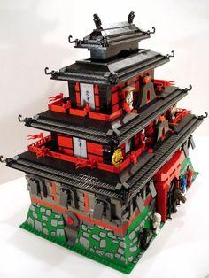 ACPin | Lego | Dioramas | Ninjago Red Castle