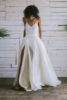 Boho Gowns & Cool Bridal Separates From The Tropical Town of Brooklyn | Loulette Bride 26