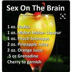 """zovest: """"justmelvin: """"aintnosuchthingastoothick: """"bigchiefatl: """"Weekend drink ideas """" Death by Sex sounds wavy """" Hmmm """" Drank """" Non Alcoholic Drinks, Bar Drinks, Refreshing Drinks, Yummy Drinks, Fruity Drinks, Cocktail Vodka, Vodka Slush, Cocktail Recipes, Alcohol Drink Recipes"""