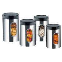 Conjunto de Potes 4 Peças em Aço Inox Brinox Suprema 2109100