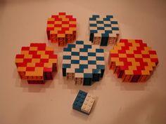 Pick a brick lego cup math. Bottom layer is tight omit top and bottom brick and top layer is tight push down 156? Bricks