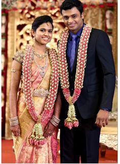 Bridal saree and diamond jwelery