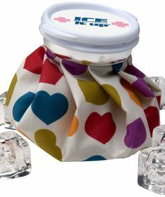 Ice Aid Vintage Style Ice Bag, LUV Multi Colored Hearts by Ice Aid. Save 3 Off!. $11.59. Ice Aid Vintage Style Ice Bags bring hot or cold therapy and a bit of fun to an otherwise painful situation. The bag is an 80% Polyester/20% Cotton blend and features a plastic screwtop lid with an attached silicone gasket to prevent leaks. Ice Aid bags are perfectly packaged for gift-giving in a clear acetate box with a cotton handle.