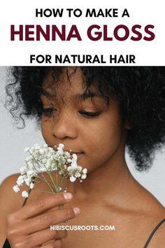 Henna For Hair Growth, Henna Natural Hair, Natural Hair Growth Tips, Henna Hair, How To Grow Natural Hair, Natural Hair Styles, Henna Brows, How To Do Henna, Henna Recipe