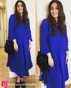 Kareena Kapoor Khan shows us how to dress for those fancy holiday parties while you're pregnant! Indian Maternity Wear, Maternity Fashion, Maternity Dresses, Pakistani Dresses, Indian Dresses, Indian Outfits, Indian Clothes, Simple Dresses, Casual Dresses