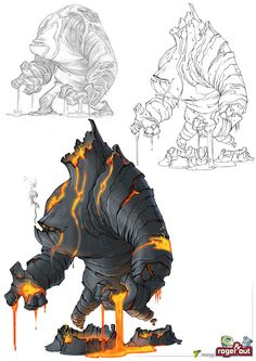 Behemoth Companion Piece - The First Endbringer is reminiscent of the myths and legends of demons of fire and brimstone that permeate nearly culture on Earth. He is a being of Earth and Fire, just as his siblings are of Water and Air respectively.