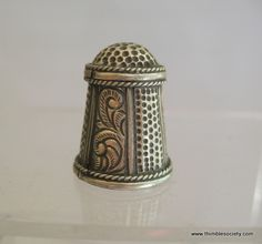 Silver Afghan thimble, probably 20th century.