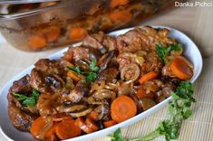 Pot Roast, Chili, Good Food, Beef, Dinner, Cooking, Ethnic Recipes, Mussels, Essen