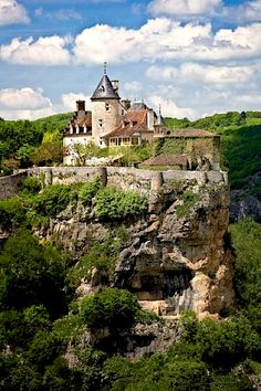 Chateau de Belcastel - Lot, Pyrenees, France Where the Soniat Dufossat Family started